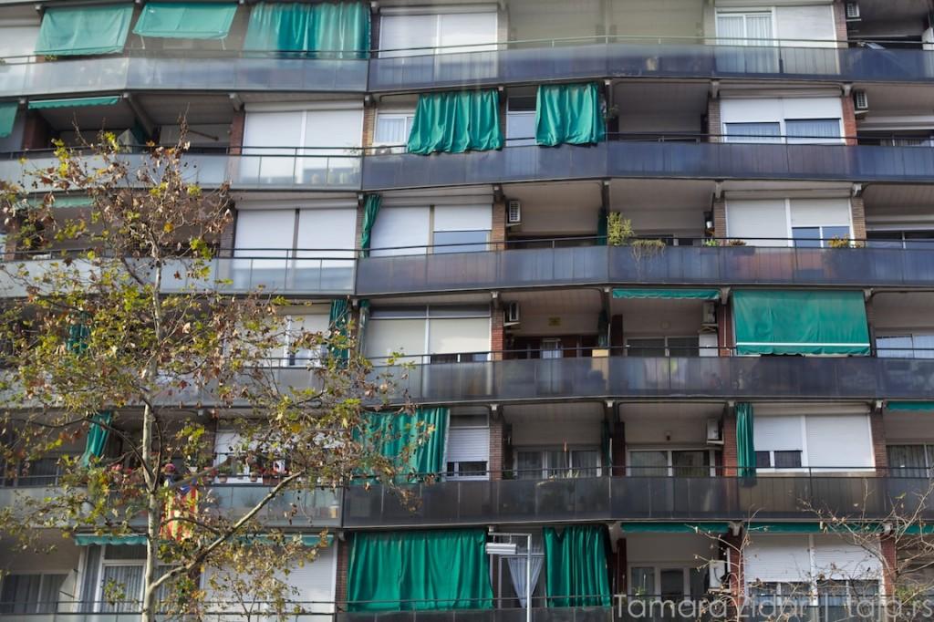 У Барселони ролетне живе ван куће