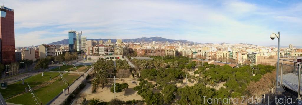 Поглед на парк пун сестара Тамара