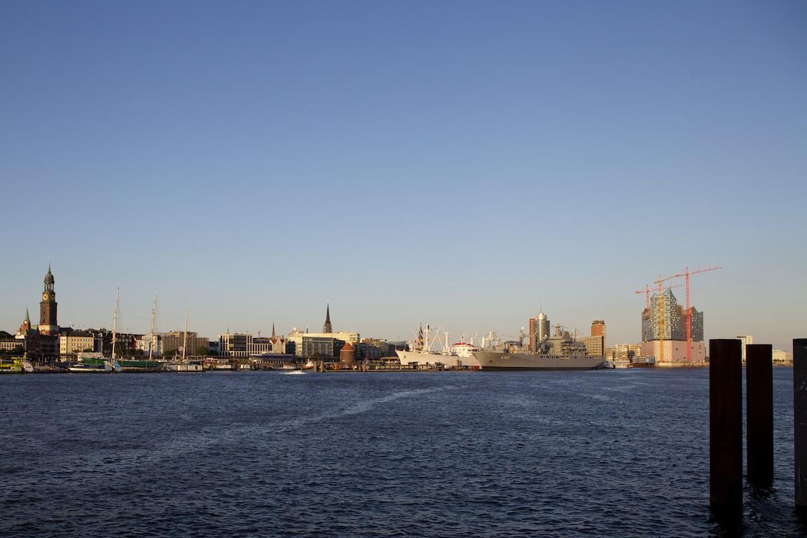Pogled na Hamburg